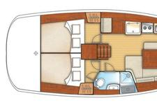 thumbnail-14 Beneteau 40.0 feet, boat for rent in Athens, GR