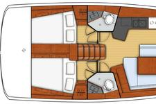 thumbnail-17 Beneteau 45.0 feet, boat for rent in Athens, GR