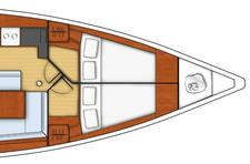 thumbnail-18 Beneteau 45.0 feet, boat for rent in Athens, GR