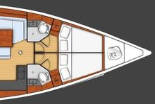 thumbnail-20 Beneteau 48.0 feet, boat for rent in Athens, GR