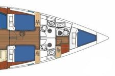 thumbnail-25 Beneteau 52.0 feet, boat for rent in Athens, GR