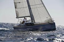Race around the Med on this sporty sailboat