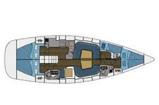 thumbnail-9 Elan 43.0 feet, boat for rent in Athens, GR