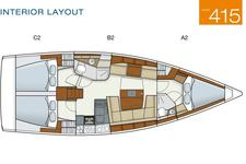 thumbnail-16 Hanse 41.0 feet, boat for rent in Athens, GR