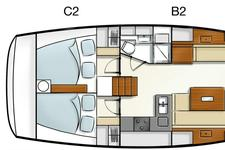thumbnail-16 Hanse 43.0 feet, boat for rent in Athens, GR