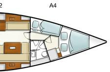 thumbnail-17 Hanse 43.0 feet, boat for rent in Athens, GR