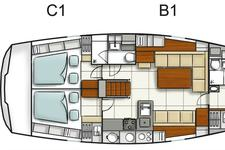 thumbnail-20 Hanse 47.0 feet, boat for rent in Athens, GR