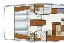 thumbnail-18 Hanse 57.0 feet, boat for rent in Athens, GR
