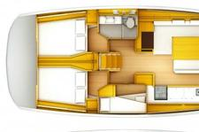thumbnail-24 Jeanneau 50.0 feet, boat for rent in Athens, GR