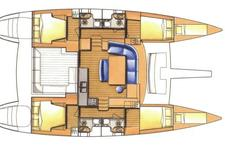 thumbnail-12 Lagoon 44.0 feet, boat for rent in Athens, GR