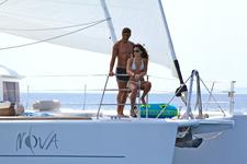Sail the Greek islands in luxury on this catamaran