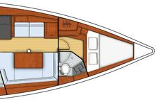 thumbnail-16  Beneteau 41.0 feet, boat for rent in Athens, GR