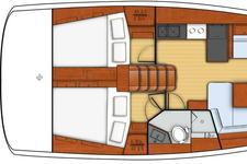 thumbnail-15  Beneteau 41.0 feet, boat for rent in Athens, GR