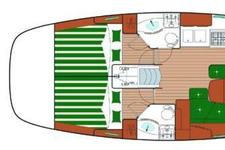 thumbnail-14  Beneteau 43.0 feet, boat for rent in Athens, GR