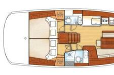 thumbnail-18  Beneteau 46.0 feet, boat for rent in Athens, GR