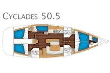 thumbnail-15  Beneteau 50.0 feet, boat for rent in Athens, GR