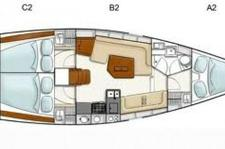 thumbnail-10  Hanse 38.0 feet, boat for rent in Athens, GR