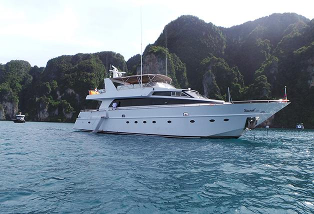 Boat for rent Baglietto 85 88.0 feet in Phuket, Thailand