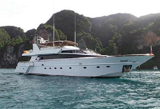 Baglietto 85's 88.0 feet in Phuket