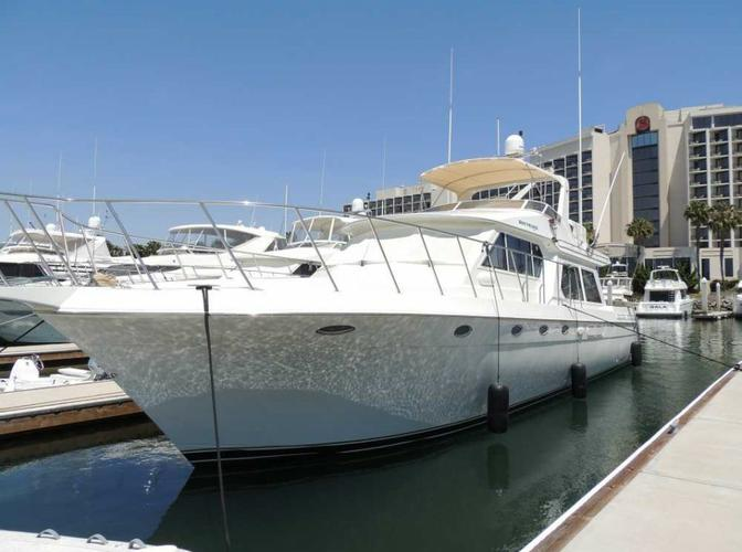 Go into the water or spend your nights on this gorgeous yacht!