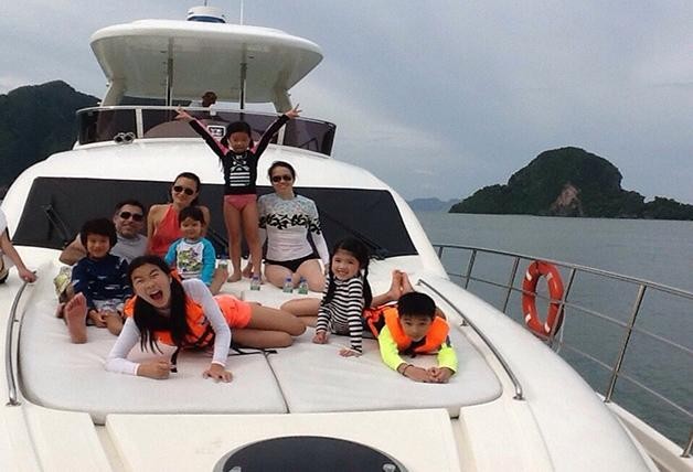 Boating is fun with a Motor yacht in Phuket