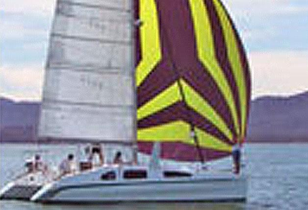 This 32.0' Designer:  Mark Pescott Year Built:  2001 cand take up to 8 passengers around Phuket