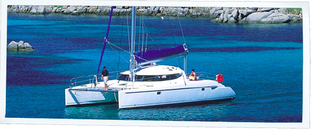 Fountaine Pajot's 41.0 feet in
