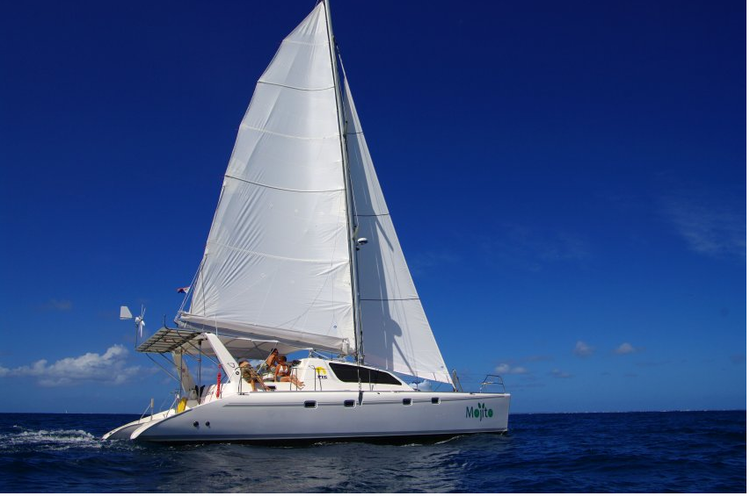 Sail St. Maarten in this pleasurable Leopard 47