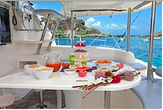 Boat rental in St. Martin,