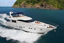 Sleeps 12 in Comfort  20 day trip Luxury Power Mega Yacht in Koh