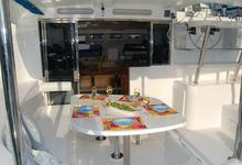 4 en-suite double cabins this 11 berth Cruising Catamaran Rental