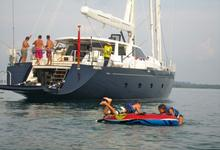 thumbnail-1 Silver Lining Superyacht 112.0 feet, boat for rent in Phuket, TH