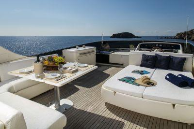 Discover Elliniko surroundings on this 82 Canados boat
