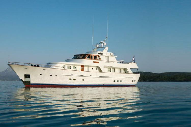 Cruise the Med aboard this Beautiful Yacht