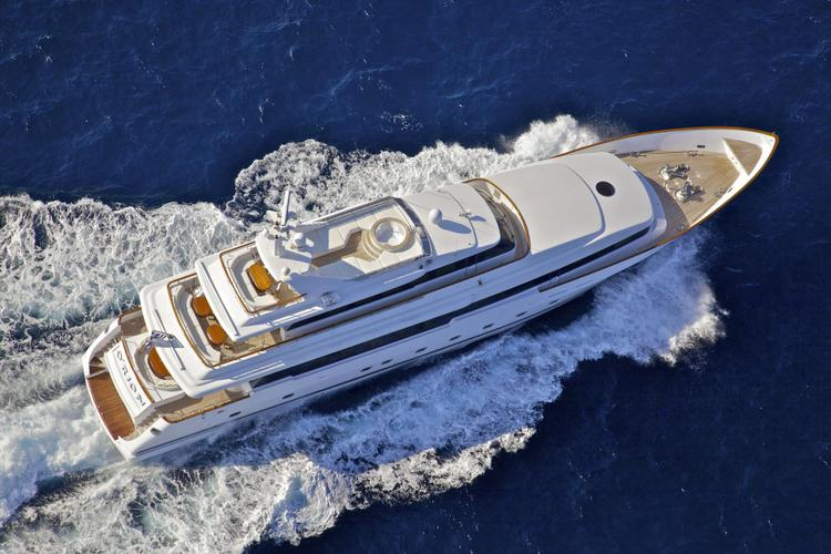 Boat for rent Siar Moschini 134.0 feet in Elliniko, Greece