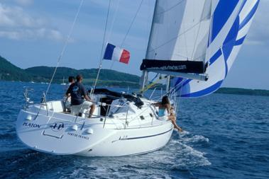 Discover Sibenik surroundings on this 38 Harmony boat