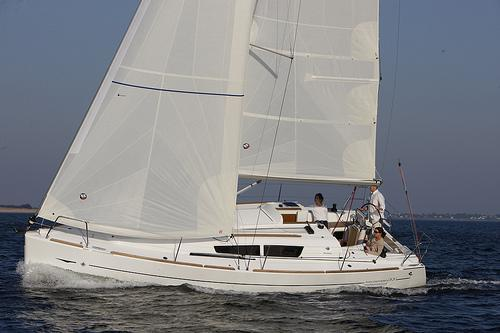 Set sail on a romantic getaway aboard this Jeanneau