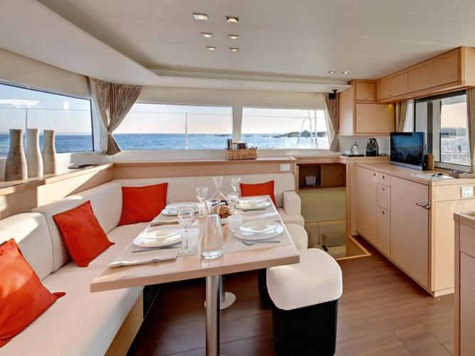 Catamaran boat rental in Alimos Marina,