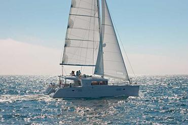 Set sail in the Chesapeake Bay with this Comfortable Catamaran