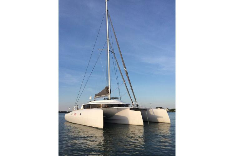 Charter this Trimaran for a Truly Unique Sailing Experience