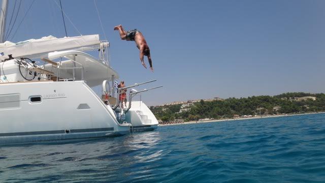Boat for rent lagoon 40.0 feet in chroussos,