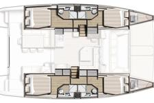 thumbnail-3 Bali 45.0 feet, boat for rent in Dubrovnik, HR