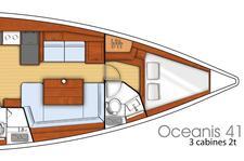 thumbnail-5 Beneteau 41.0 feet, boat for rent in Sibenik, HR