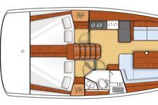 thumbnail-4 Beneteau 41.0 feet, boat for rent in Sibenik, HR