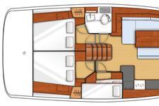 thumbnail-4 Beneteau 48.0 feet, boat for rent in Dubrovnik, HR