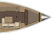 thumbnail-5 Dufour 38.0 feet, boat for rent in Dubrovnik, HR