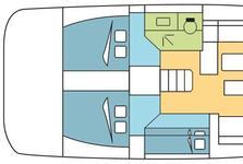thumbnail-3 Dufour 50.0 feet, boat for rent in Dubrovnik, HR