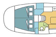 thumbnail-3 Harmony 34.0 feet, boat for rent in Sibenik, HR