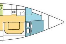 thumbnail-5 Harmony 38.0 feet, boat for rent in Sibenik, HR