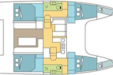 thumbnail-4 Nautitech 40.0 feet, boat for rent in Dubrovnik, HR